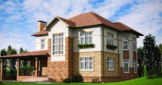 Фасадные работы Киров цена от 257 руб. м2