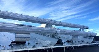 Монтаж снегозадержателей Киров цена от 821 руб.